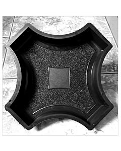 Plastvorm rist ringi vahele / 25,0x25,0x4,5 cm