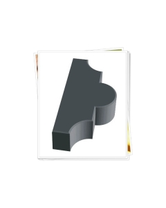 Plastvorm Ristikhein vuukidega, 2 poolikut / 26,7x21,8x6,0cm
