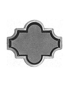 Plastvorm Ristikhein krobeline / 26,7x 21,8 x 6,0cm