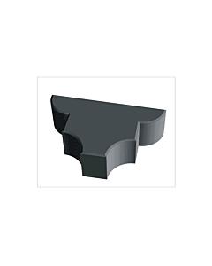 Plastvorm Ristikhein sile, 2 poolikut / 26,7x 21,8 x 6,0cm