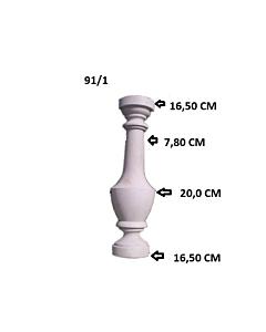 Plastvorm Post (2 poolt) / 70x16,5cm