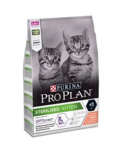 Pro Plan täissööt steriliseeritud kassipojale lõhega / 400g
