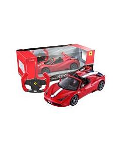 Puldiauto Ferrari 458 signaali ja tulega