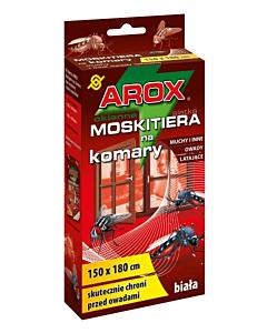 Putukavõrk aknale AROX valge + kinnitusteip / 150x180cm