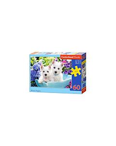 Puzzle Castorland Westie Puppies 32x23cm/ 60tk / LM