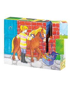 """Puslekuubikud """"Hobused"""""""
