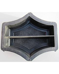 Plastvorm lõigatud ringi vahetükk (2 poolikut) / 23,0x23,0x4,5cm