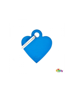 My Family Basic ripats süda, väike / sinine