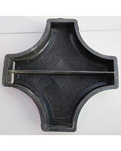 Plastvorm rist ringi vahele (2 poolikut) / 25,0x25,0x4,5 cm