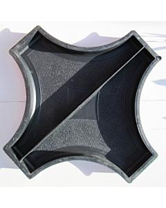 Plastvorm rist ringile (2 poolikut) / 61cm kõrgus 4,5cm