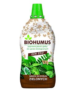 BIOHUUMUS Roheliste taimede väetis / 1L
