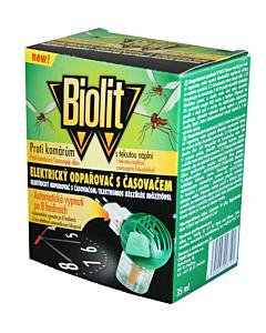 Sääse fumigaator BIOLIT taimeriga + vedelik 60 ööd / 35ml