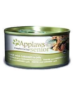 Applaws Senior kassikonserv želees tuunikala/sardiin / 70g