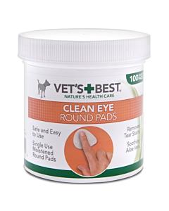 Vet's Best silmapuhastuslapid koertele ja kassidele / 100tk