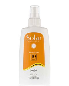 Solar päevituspiim SPF 10 (veekindel) / 150ml