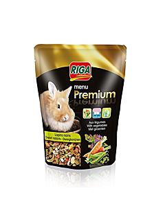 Riga küülikute sööt Menu Premium / 8x500g
