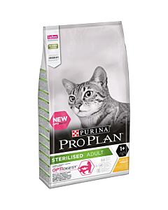 Pro PlanCat Sterilised kassitoit kanaga / 10kg