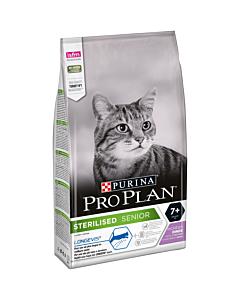 Pro Plan Cat Sterilised 7+ kassitoit kalkuniga / 1,5kg