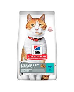 SP Feline Adult Hairball Control для выведения шерсти из желудка с курицей
