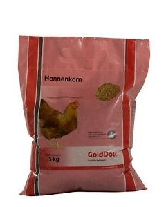 Täissööt kana-, pardi- ja hanetibudele Golddott / 5kg