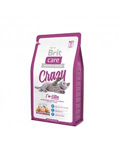 Brit Care Cat täissööt kassipoegadele ja tiinetele kassidele (kana ja riis) / 7kg