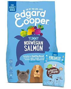 Edgard Cooper koera täissööt Norwegian lõhega / 2,5kg