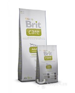 Brit Care koeratoit väikest tõugu koertele lambalihaga / 7,5kg