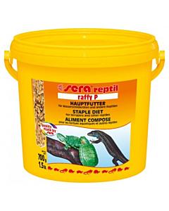 Täissööt veekilpkonnadele ja sisalikele Raffy P / 3800 ml