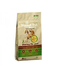 Planet Pet Society koeratoit kana-riisi Adult / 3kg