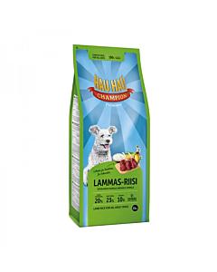 Hau-Hau Champion täistoit kõikidele täiskasvanud koertele lammas-riisi / 15kg