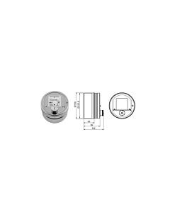 Korstna tõmberegulaator RCO ümmargune / 150mm