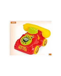 Telefon-koer ratastel / 20x20x14cm