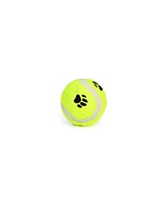 Beeztees koera mänguasi tennisepall Käpamuster, kollane / 6,5cm