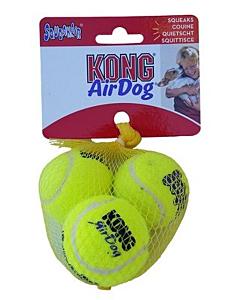 Kong Air  Squeakair Ball piiksuvad tennisepallikujulised mänguasjad koertele