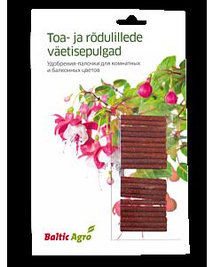 Väetisepulgad toa- ja rõdulilledele / 20tk