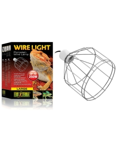 Traadist rippuv valgusti Exo Terra Wire Light / 250W