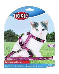 Traksid kassipojale jalutusrihmaga, nailonist