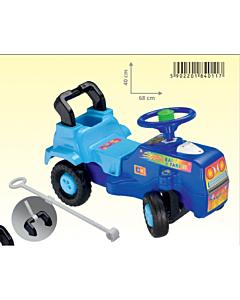 Traktor pealeistutav lükkamispulgaga