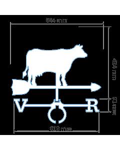 Флюгер Корова