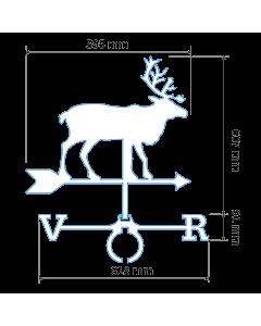 Флюгер Северный олень