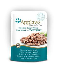 Applaws einekotike kassi einekotike zelees tuunikala/makrell / 70g