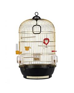 Клетка для птиц Diva / золотистая /  40x65 cm
