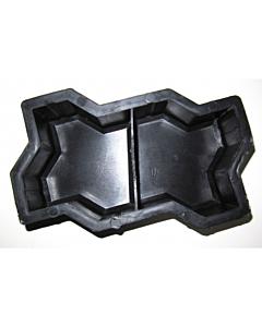 Plastvorm Unikivi 2 poolikut / 11,8x10,3x6,0cm