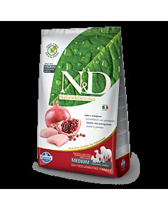 Farmina Chicken & Pomegranate Adult Mini - täissööt kanaliha ja granaatõunaga täiskasvanud väikest tõugu (kuni 10 kg)  koertele / 2,5 kg