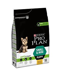 Pro Plan Puppy Small Breed koeratoit kanaga / 3kg