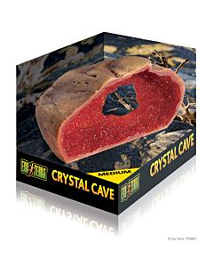 Terraariumi dekoratsioon/varjend 'Crystal Cave' Medium
