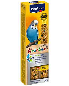 Vitakraft viirpapagoide maius Kräcker Feather Care / 2tk.