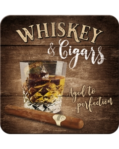 Retro klaasialus / Whiskey & Cigars / LM