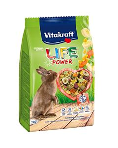 Vitakraft Life Power Tasty Flavour kuivtoit küülikutele / 600g