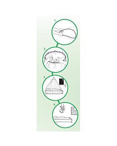 Putukavõrk voodile / 12.5x2.5m / valge